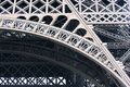 Eiffel Tower frame Stock Images