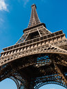 Eiffel tower historical monument of the city of paris Royalty Free Stock Photography