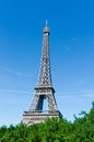Eiffel tower isolated on the white Royalty Free Stock Image