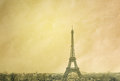 The eiffel tower nickname la dame de fer iron lady has become most prominent symbol of both paris and france Royalty Free Stock Image