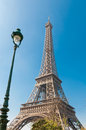 The eiffel tower nickname la dame de fer iron lady has become most prominent symbol of both paris and france Stock Images