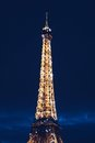 Eiffel Tower during Nighttime Royalty Free Stock Image