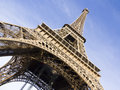 The eiffel tower is one of the most recognizable landmarks in th paris france Stock Photography