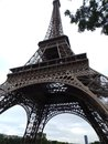 Eiffel tower in paris Royalty Free Stock Photography