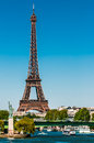 The eiffel tower paris city France Royalty Free Stock Photos