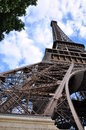 The eiffel tower paris in famous landmark Royalty Free Stock Photo