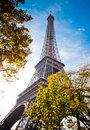 Eiffel Tower in Paris, France. Royalty Free Stock Image