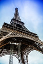 Eiffel Tower in Paris France Royalty Free Stock Photography