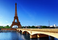 Eiffel tower paris france in Royalty Free Stock Image