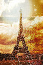 Eiffel tower - paris - France Stock Images