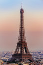Eiffel tower in paris france la tour Royalty Free Stock Photography