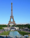 Eiffel tower in paris france landmark image of Stock Photos