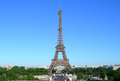 Eiffel tower in paris france landmark image of Stock Photo