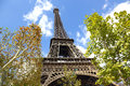 Eiffel tower paris france is the symbol of Royalty Free Stock Images