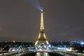 Eiffel Tower and Paris Skyline Royalty Free Stock Photo