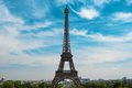 Eiffel Tower and skyline of Paris, France, Europe Royalty Free Stock Photo