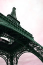 Eiffel Tower in spring time, Paris Royalty Free Stock Photo