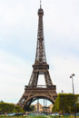Eiffel tower symbol of paris the most romantic city Royalty Free Stock Photography