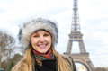 Eiffel Tower tourist in Paris, France Royalty Free Stock Photo