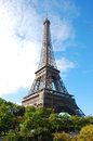 Eiffel tower view of the Royalty Free Stock Photos