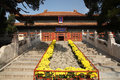 Eijing confucian temple beijing is located in beijing dongcheng district guozijian street built in built in is the chinese yuan Royalty Free Stock Images