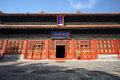 Eijing confucian temple beijing is located in beijing dongcheng district guozijian street built in built in is the chinese yuan Stock Photos
