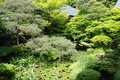 Eikando Temple Gardens, Kyoto Royalty Free Stock Photo