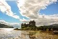 Eilean Donan Castle. Kyle of Lochalsh Royalty Free Stock Photo