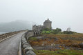 Eilean donan castle most famous castle in scotland the highlander location Royalty Free Stock Photos