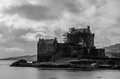 Eilean Donan Castle in Scotland Royalty Free Stock Photography