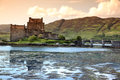 Eilean donan castle scotland uk Royalty Free Stock Photos