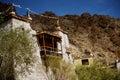 Ein schönes haus im komplex von hemis kloster leh ladakh indien Stockbilder
