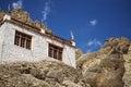 Ein schönes haus im komplex von hemis kloster leh ladakh indien Stockfotos