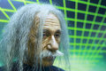 Einstein s wax figure in gulangyu island china Royalty Free Stock Photography