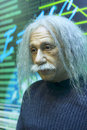 Einsteins wax figure in gulangyu island china Royalty Free Stock Photo