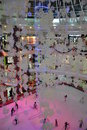 Eisbahn an Al Ain-Mall, UAE Stockfotos