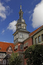 Eisenach historical town hall the in wellknown as city of martin luther Royalty Free Stock Images