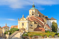 Eisenstadt mountain church haydn church on kalvarienberg burg burgenland austria Stock Photo