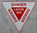 Ejection Seat Sign Royalty Free Stock Images
