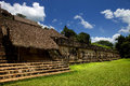 Ek balam ancient maya city of yucatan mexico Royalty Free Stock Photography
