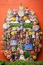 El arbol de la vida, the tree of life, an aztec tradition Royalty Free Stock Photo