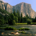 El Cap Springtime Stock Photos