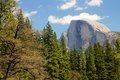 El capitan in a blue sky at yosemite national park california Royalty Free Stock Photography