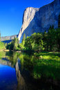El Capitan Reflection Royalty Free Stock Photo