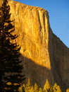 El Capitan sunset Stock Image