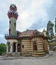 El Capricho of Antonio Gaudi Comillas,Spain Royalty Free Stock Photo