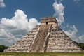 El Castillo Chichen Itza Mexico Royalty Free Stock Image