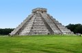El castillo in chichen itza step pyramid named the archaeological site yucatan mexico Stock Image
