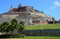 El castillo de felipe fortress in cartagena columbia Stock Photos