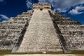 El Castillo Pyramid at Chichen Itza Stock Photography